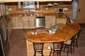 Kitchen Counter Table Home Design Ideas - Counter table kitchen