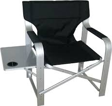 Folding Directors Chair With Side Table Side Table Natural Gear Directors Folding Camp Chair With Side