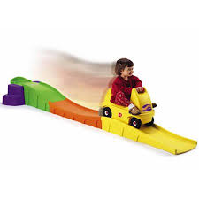 Backyard Roller Coaster For Sale by Step2 Up U0026amp Down Roller Coaster With 10 Feet Long Track