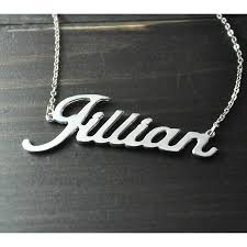 personalized name pendant aliexpress buy any personalized name necklace alloy pendant