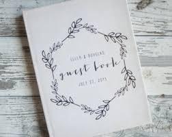 wedding gift book wedding guest book wedding guestbook custom guest book