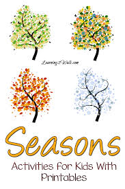 season activities for kids with printables image png