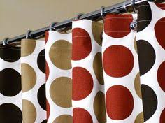 Brown And White Shower Curtains Hookless Rbh40es305 Fabric Shower Curtain With Built In Liner