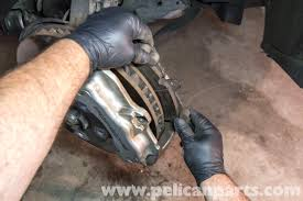porsche cayenne front brake pad replacement 2003 2008 pelican