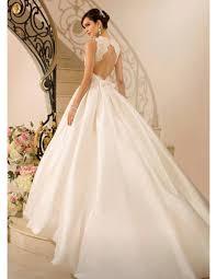 robe de mariage princesse de mariee princesse dos nu