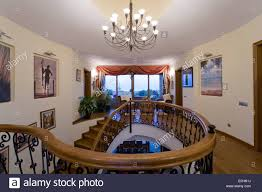 Stairs With Landing by Traditional Stairs Landings Interiors Stock Photos U0026 Traditional