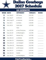 best 25 dallas cowboys schedule 2017 ideas on dallas