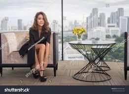 High Sitting Chair Work Stoppage Foot Feet Pain Ache Stock Photo 452097184 Shutterstock