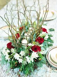 how to make a christmas floral table centerpiece 51 best long and low flowers images on pinterest floral