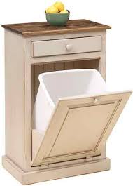 Kitchen Cabinet Trash Best 25 Wooden Trash Can Holder Ideas On Pinterest Wooden Trash