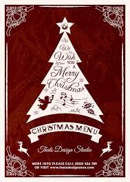 christmas eve menu template psd v 5 to download