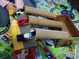 learning and exploring through play toy car activities and