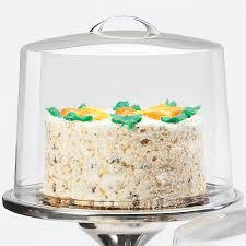 cal mil p311 acrylic cake pie cover 12