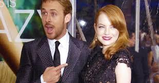 emma stone e ryan gosling film insieme italia uno omaggia la coppia del momento emma stone e ryan gosling