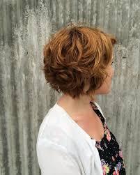 curly layered bob double chin 60 stylish short wavy hairstyles pure charm seasons pinterest