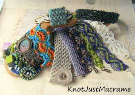 bracelet macrame patterns images Knot just macrame by sherri stokey micro macrame tutorials and jpg
