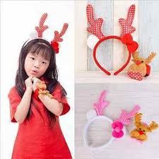 s headband christmas children s headdress set headband buckle bracelet two