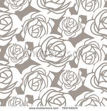 bouquet roses outline stock vector 146355806 shutterstock