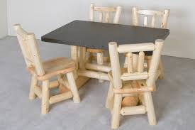 Log Dining Room Tables Log Cabin Furniture Generation Log Furniture