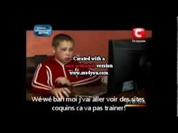 Angry Gamer Kid Meme - angry ukranian kid vostfr youtube