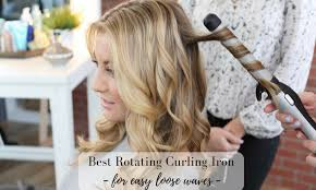 curling irons that won t damage hair best rotating curling iron for easy loose waves hot air brush