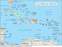 carribbean map map of the caribbean thinglink