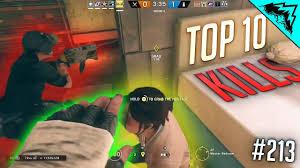 siege luck top 10 plays rainbow six siege wbcw 213 siege top