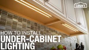 ideas for cabinet lighting in kitchen how to install cabinet lighting