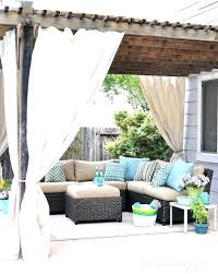 Curtains On Patio Outdoor Curtains For Patio Porch Curtains Outdoor Outdoor Curtains