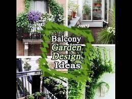 small balcony garden design ideas youtube