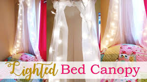 lighted bed canopy tutorial diy youtube lighted bed canopy tutorial diy