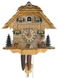 Chalet Style by Cuckoo Clock 1 Day Movement Chalet Style 26cm By Anton Schneider