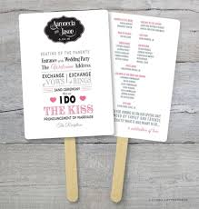 diy wedding program fan particular put a bird on it wedding program fans to keep guests