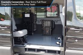 ams ford transit rear lift wheelchair accessible van conversion
