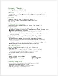 Examples Of Strong Resumes by Example Resumes U2022 Engineering Career Services U2022 Iowa State University