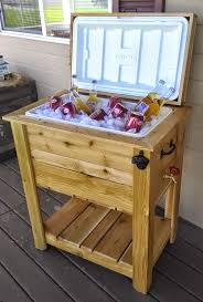 Outdoor Cooler Cart On Wheels by 25 Unique Ice Chest Ideas Ideas On Pinterest Man Cave Backyard