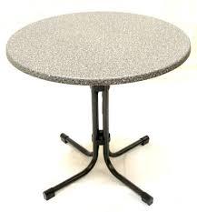 Granite Top Bistro Table New Acamp 80cm Garden Bistro Table Round Granite Top Folding