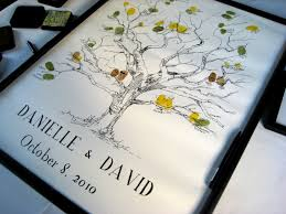 wedding tree guest book tmeplate event legal find thumbprint