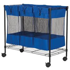 Laundry Hamper 3 Compartment by Household Essentials 3 Bag Laundry Sorter U0026 Organizer Urban
