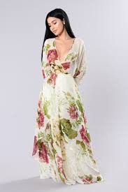 floral maxi dress floral maxi dress ivory