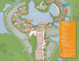 Disney World Resort Map Coronado Springs Resort Map Kennythepirate Com An Unofficial