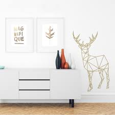 geometric deer feelin it decals feelin it decals geometric deer 2