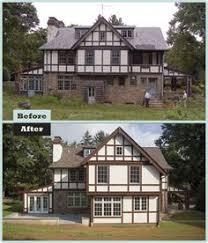 English Tudor Home This English Tudor Stucco Home Is Typical Of The Majority Of Tudor