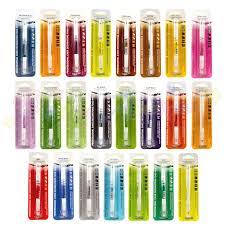 edible pen rainbow dust ended edible food pens set 23