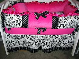Damask Crib Bedding Sets Black And White Damask Baby Bedding Shopsonmall