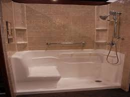 Bathroom Shower Inserts Bathrooms Design Luxury Bathroom Shower Units In Home Remodel