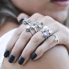 Moonstone Wedding Ring by Shop Dixi Boho Ring Simple Rainbow Moonstone Sterling Silver