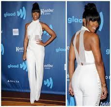 white tuxedo jumpsuit get the look rowland in izmaylova jumpsuit be mod com