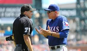 Jeff Banister Jeff Banister And Adam Hamari Photos Photos Texas Rangers V