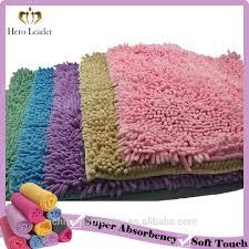 Pink Bathroom Rugs by Luxury Microfiber Chenille Bath Rug Luxury Microfiber Chenille